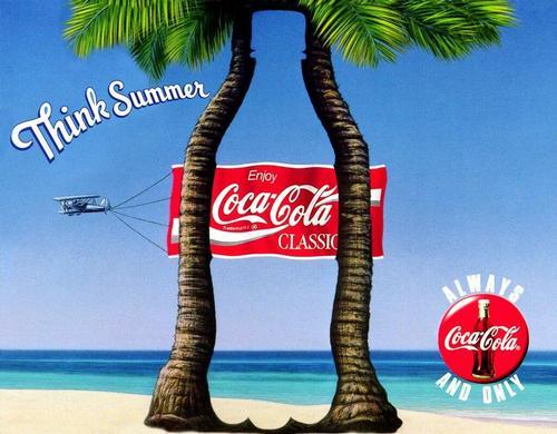 Coca Cola Classic Palm - Think Summer