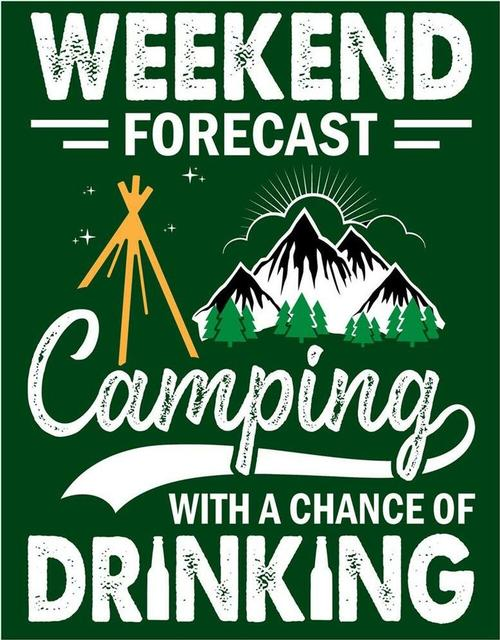 Weekend Forecast - Camping & beer