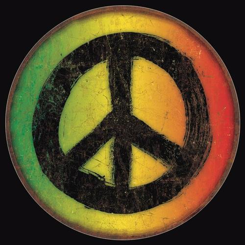 Rasta Peace Sign