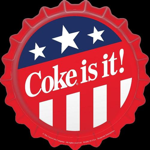 Patriotic Coke Cap (18