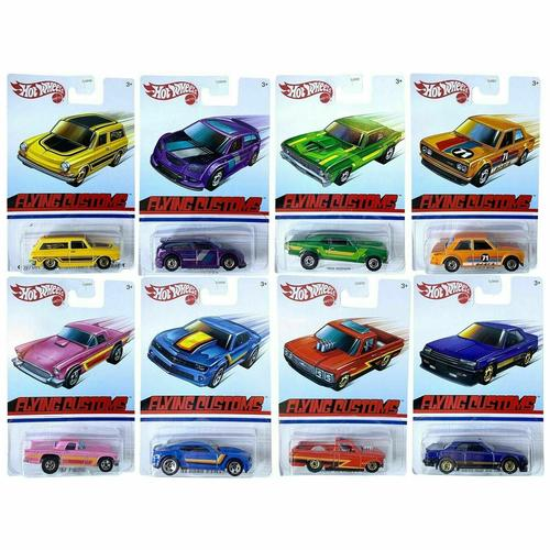 Hot Wheels 2021 Flying Customs Case A SET OF 8 (Case A) 1/64