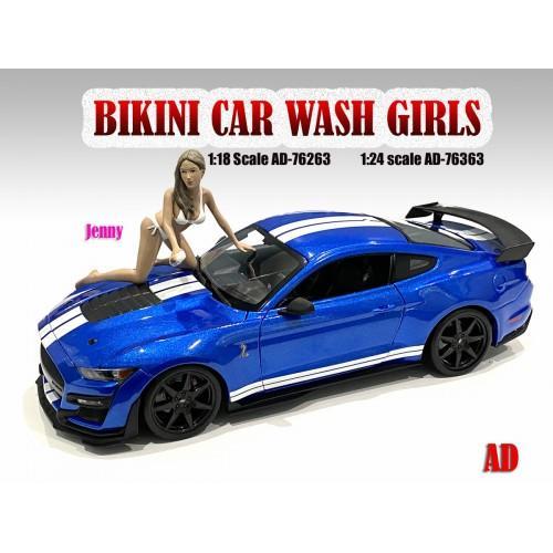 1:18 Figure Bikini Car Wash Girl - Jenny Figure