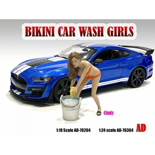 1:18 Bikini Car Wash Girl - Cindy Figure