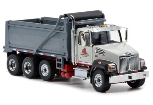 Western Star 4700 SF Three Axle Dump Truck