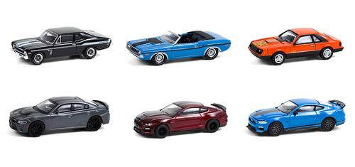 1/64 Set GreenLight Muscle Series 24