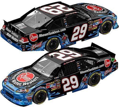 Kevin Harvick #29 Rheem Tankless Water Heaters 2011 Impala (AUTOGRAPHED)