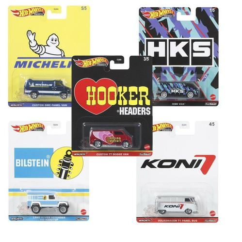 1/64 Hot Wheels 2021 Pop Culture Dash K Speed Shop Garage Set of 5
