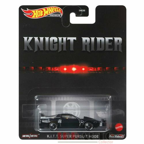 Hot Wheels Knight Rider KITT Super Pursuit 1/64
