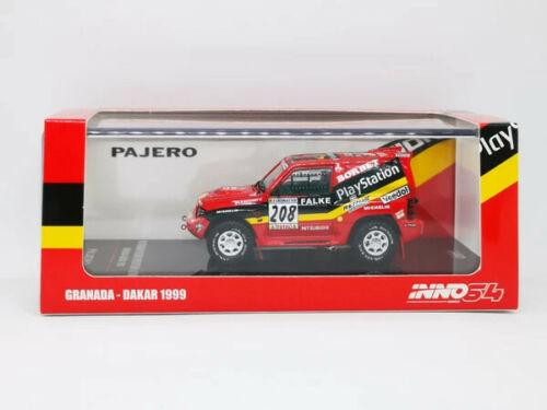 Mitsubishi Pajero Evolution No.208 PLAYSTATION Dakar Rally 1999