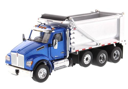 Kenworth T880S SFFA Tandem Dump Truck with Pusher Axle
