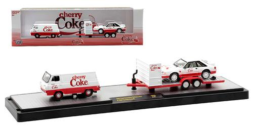 1965 Ford Econoline Delivery Van and 1990 Ford Mustang GT Cherry Coke Coca-cola