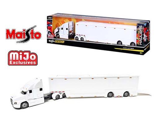 Maisto 1:64 Design Custom Hauler Mack Anthem Enclosed Transporter