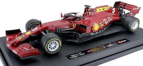 Ferrari F1 SF1000 Toscana Mugello 1000Th GP 2020 (Vettel)