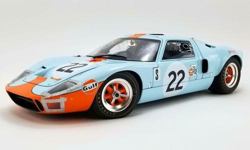 FORD GT40 MKI #22 GULF CHAMPION 12H SEBRING 1969