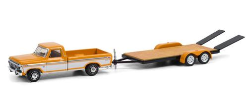 1976 Ford F-150 Ranger XLT Trailer Special with Flatbed Trailer