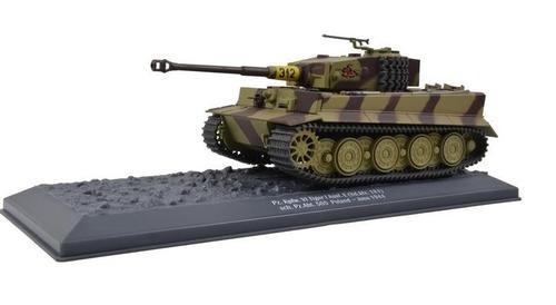 German Late Production Sd. Kfz. 181 PzKpfw VI Tiger I Ausf. E Heavy Tank - Poland, 1944