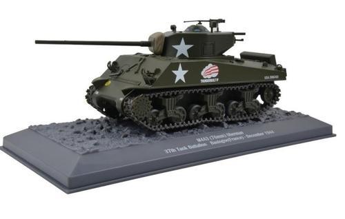 US M4A3 Sherman Tank Thunderbolt IV, 37th Tank Batt. 4th Arm. Div., Bastogne, Belgium, 1944