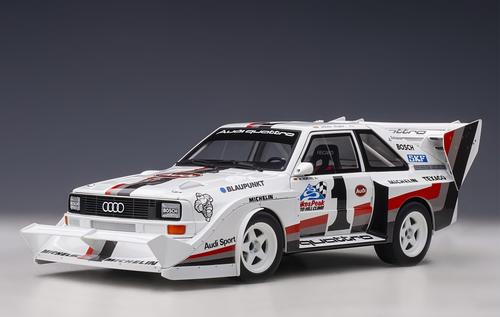 Audi Quattro S1 Pikes Peak Winner 1987 #1 W Roehrl