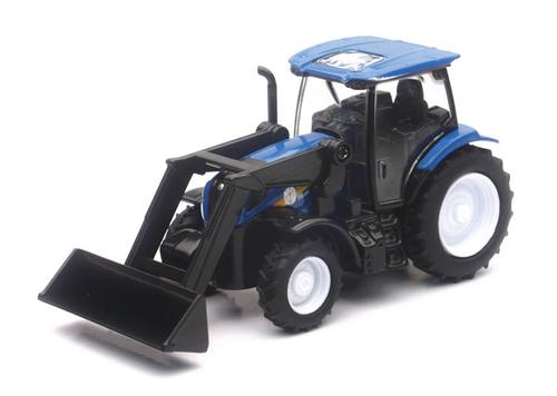 New Holland T6 Farm Tractor with Front Loader (Plastic)