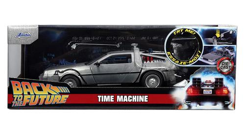 DeLorean Time Machine with Lights - Back to the Future