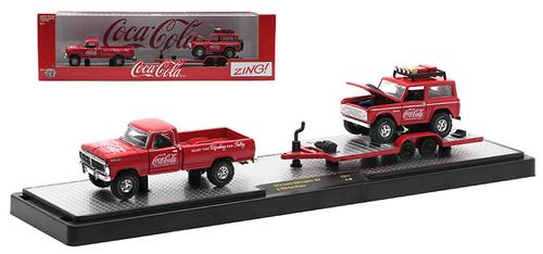 Coca-Cola - 1972 Ford F-250 Explorer 4x4 and 1966 Ford Bronco