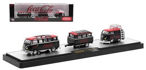 Coca-Cola - 1960 Volkswagen Microbus Deluxe USA Model and 1960 Volkswagen Delivery Van