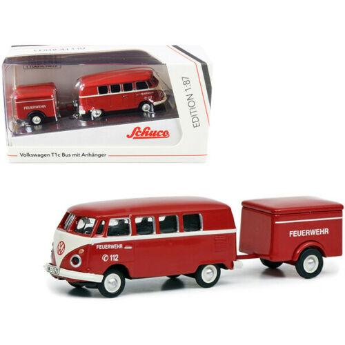 Volkswagen T1c Bus with Trailer