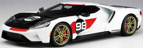 Ford GT 2021 #98 1966 Daytona 24 Hours Heritage Edition