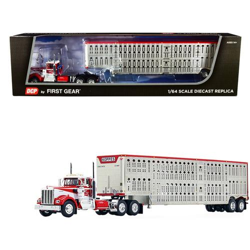 Kenworth W900A Day Cab with Wilson Silver Star Livestock