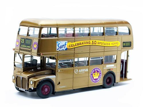 ROUTEMASTER RM #23 DOUBLE DECKER BUS