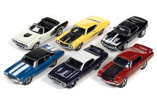 Johnny Lightning Muscle Cars 2021 Release 2A SET