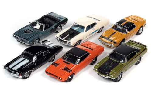 Johnny Lightning Muscle Cars 2021 Release 2B SET