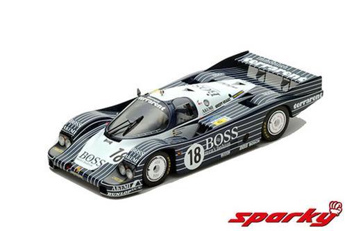 1:64 Porsche 956 No.18 7th 24H Le Mans 1983 J Lässig A.Plankenhorn