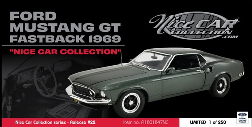 Ford Mustang GT Fastback 1969 Nice Car Collection (Schedule for February)