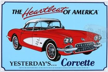 The Heartbeat of America Yesterday's... Corvette