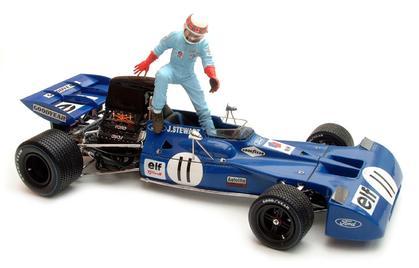Exoto Tyrrell Ford 003 #11 1971 Grand Prix Canada Jackie Stewart