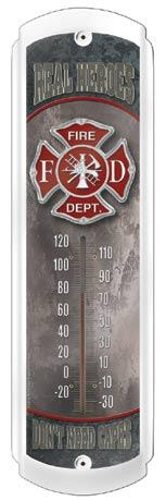Thermometer - Real Heroes - Firemen