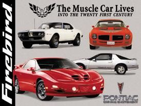 Firebird The Muscle Car Lives Into The Twenty First Century