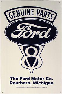 Genuine Parts Ford V8