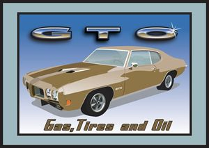 GTO Gas, Tires and Oil