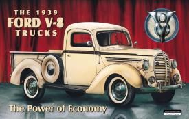 The 1939 Ford V-8 Trucks