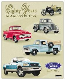 Eighty Years As America's #1 Truck