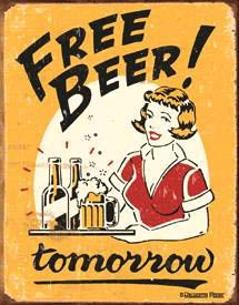 Free Beer! tomorrow