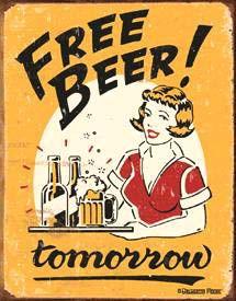 Free Beer! tomorrow
