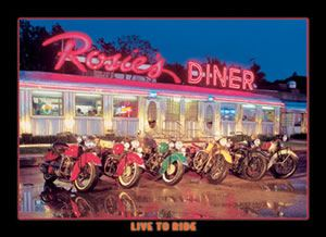 Live to Ride - Rosie's Diner