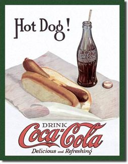 Coca-Cola & Hot dog