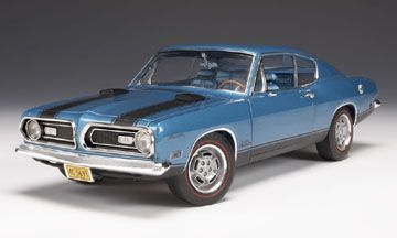 Plymouth Barracuda 1969 **Low stock**