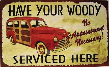 Have your woody serviced here