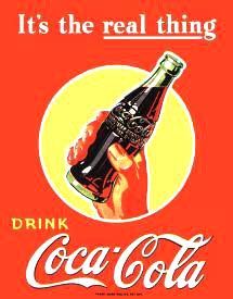 COKE - The Real Thing  #E1053