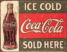 Ice Cold Coca-Cola Sold Here